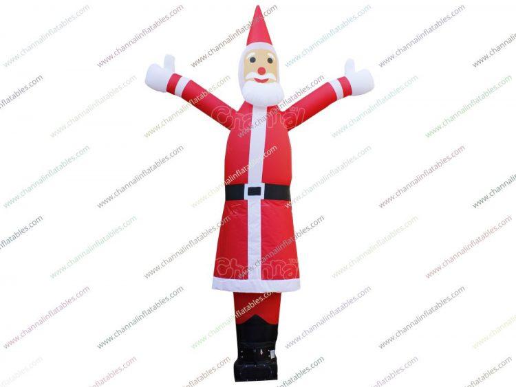 santa Christmas air dancer