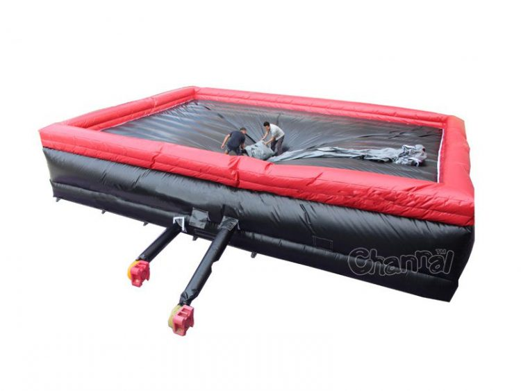 large inflatable stunt jump bag for sale