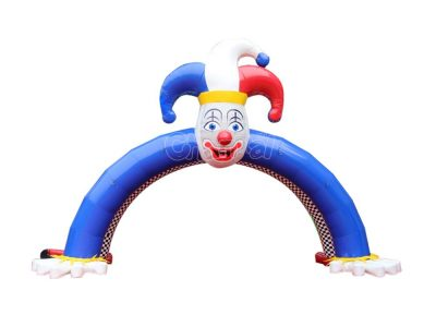 inflatable clown arch