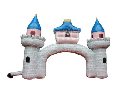 king's castle inflatable arch for sale
