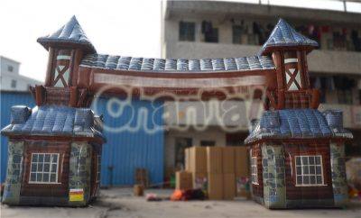 inflatable castle arch