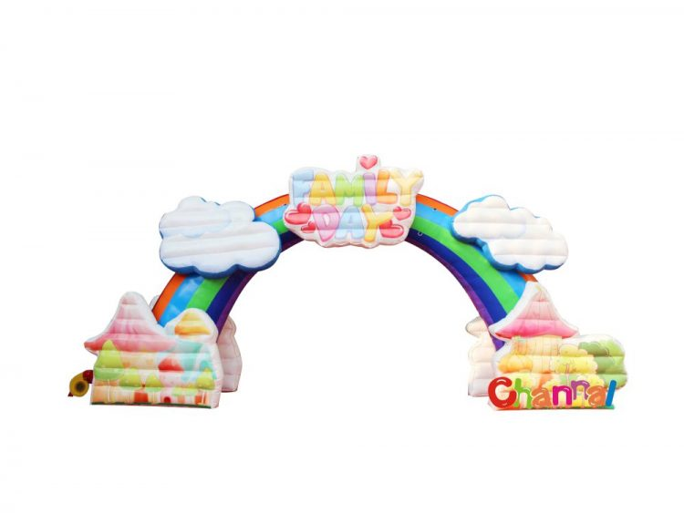 inflatable family day arch for sale