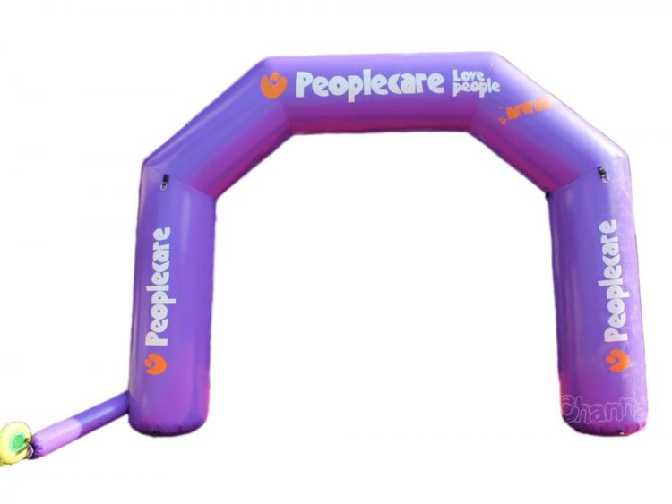 inflatable arch for charity events