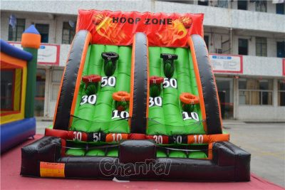 inflatable shoot basketball game