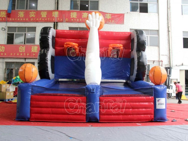 inflatable full court press