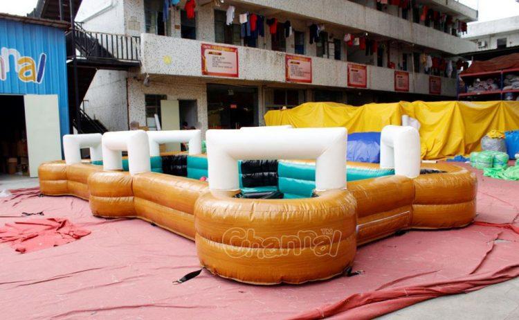inflatable snookball pool table
