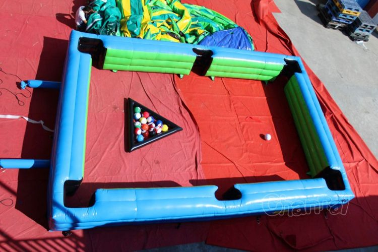 Life Size Soccer Pool Table Channal Inflatables - Life size pool table