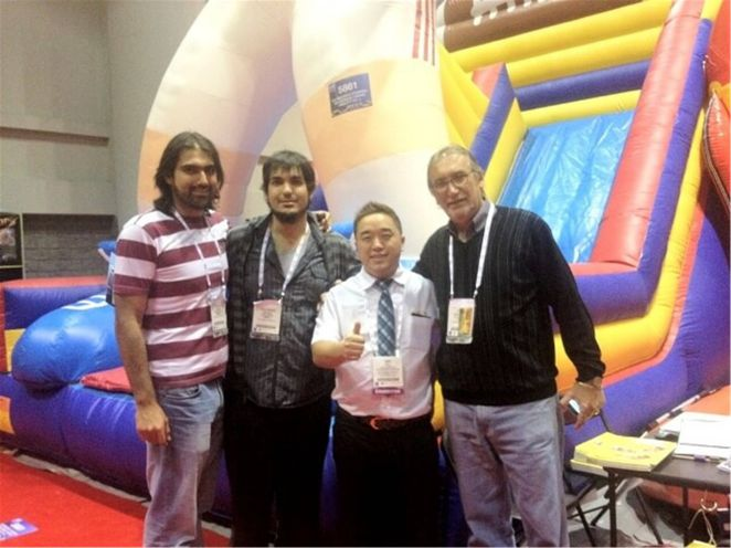Channal boss and customers