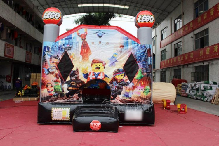 LEGO movie inflatable bouncer for kids