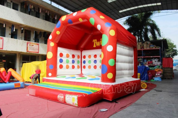 twister inflatable jump house for kids