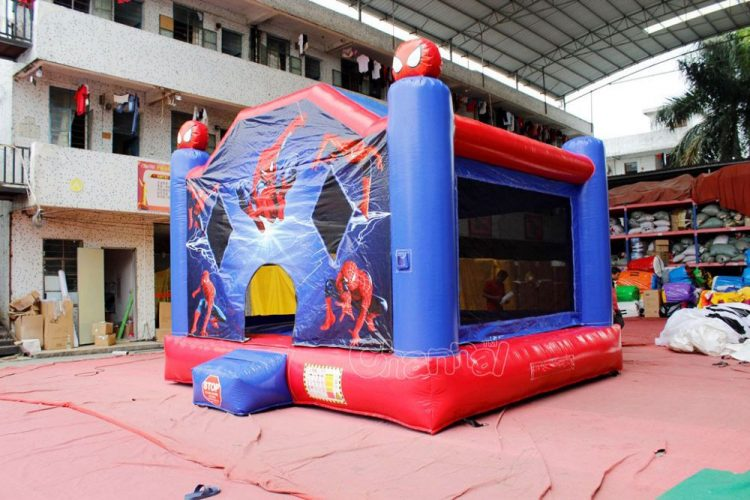 spider-man bounce house for kids
