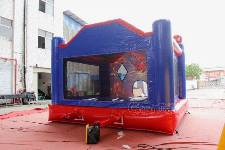 spiderman inflatable jumper (blower)