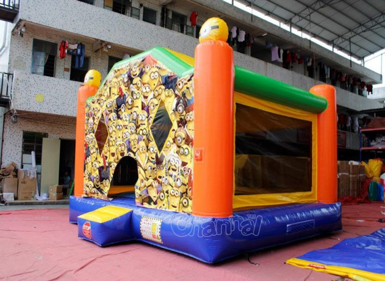 minion bounce house for kids