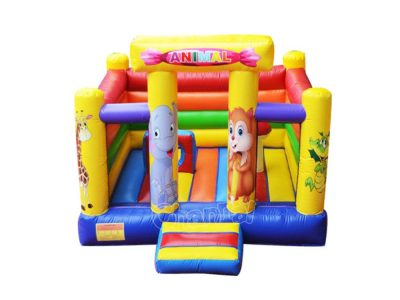 inflatable cute animal bouncer