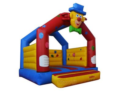 funny clown inflatable bouncer for kids