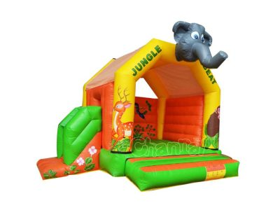 inflatable jungle beat bouncer