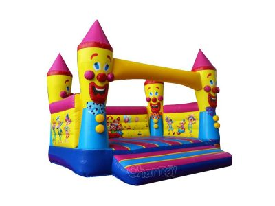 birthday clown inflatable bouncer