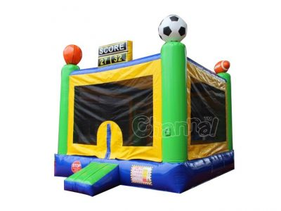 sports scores bounce house