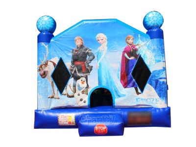 frozen inflatable bounce house for kids