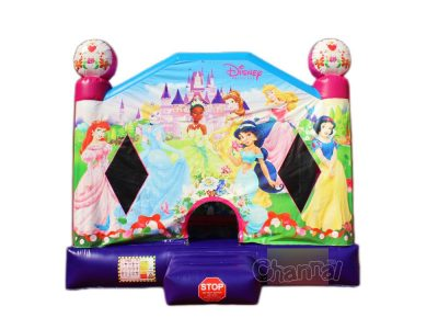 pink princess bounce house for sale