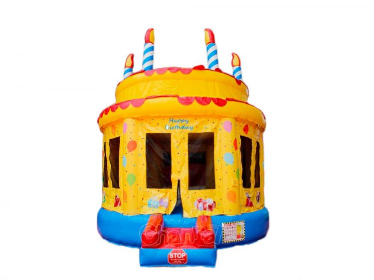 birthday cake bounce house for sale