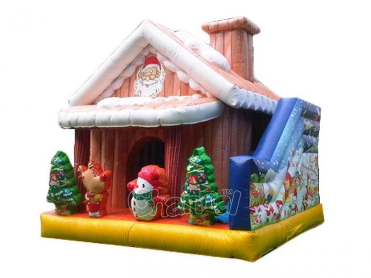 santa's house bounce house for sale