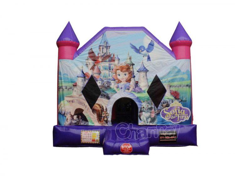 princess sofia bounce house