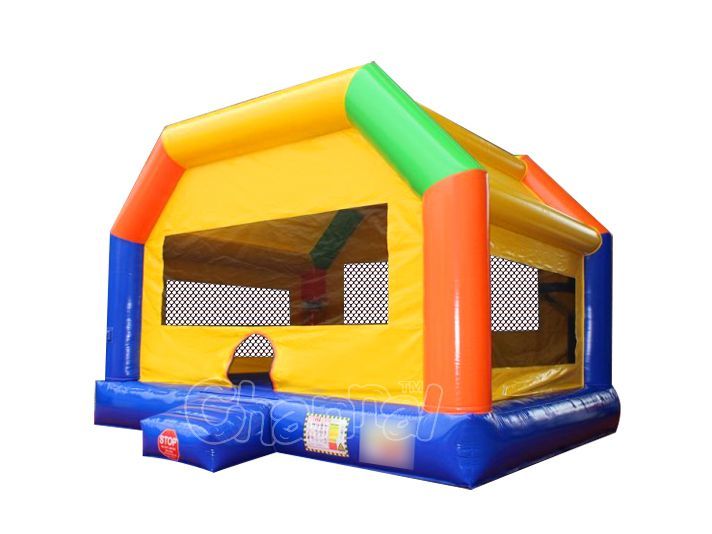 wide bounce house
