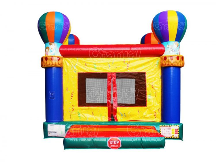 hot air balloon inflatable bouncer