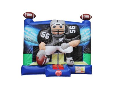 football player bounce house for sale