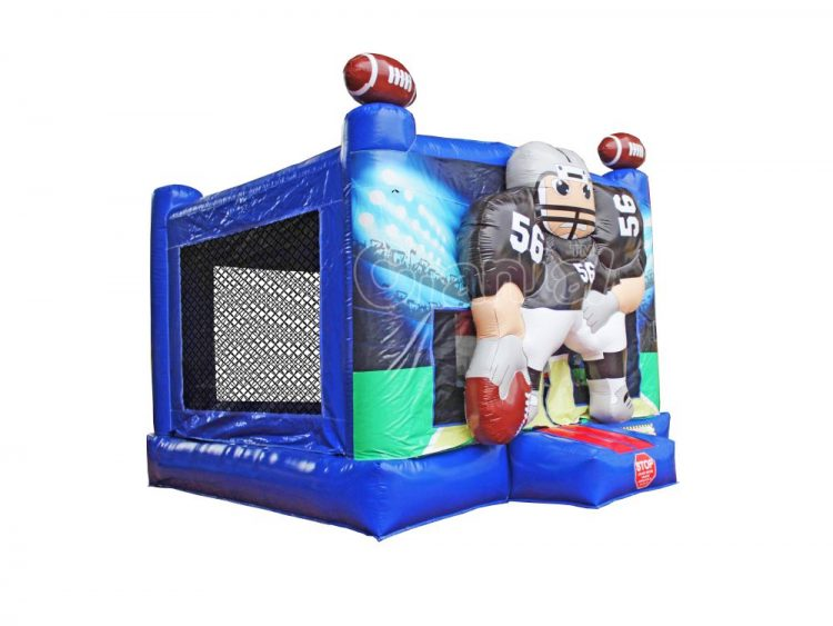 commercial grade inflatable football bounce house