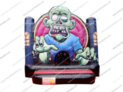 Zombie bounce house for sale