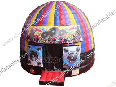 inflatable disco dome jumper