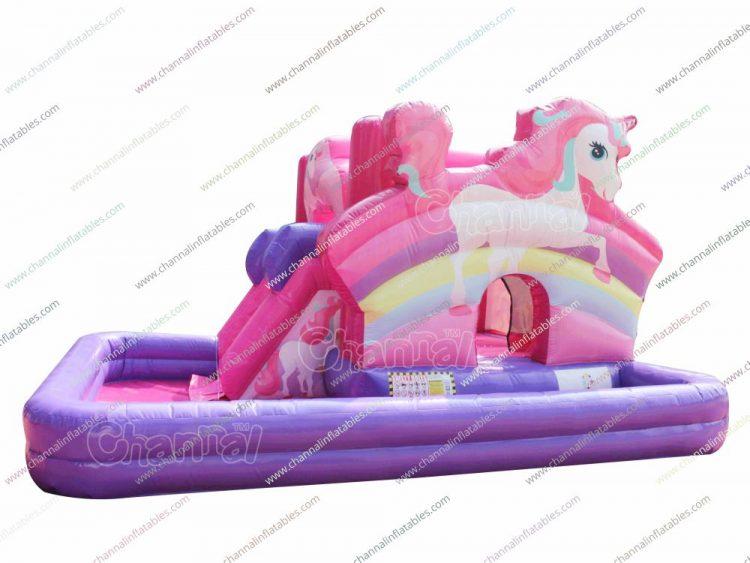 pink unicorn bouncer and wet combo