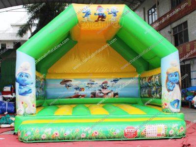 smurfs jump house