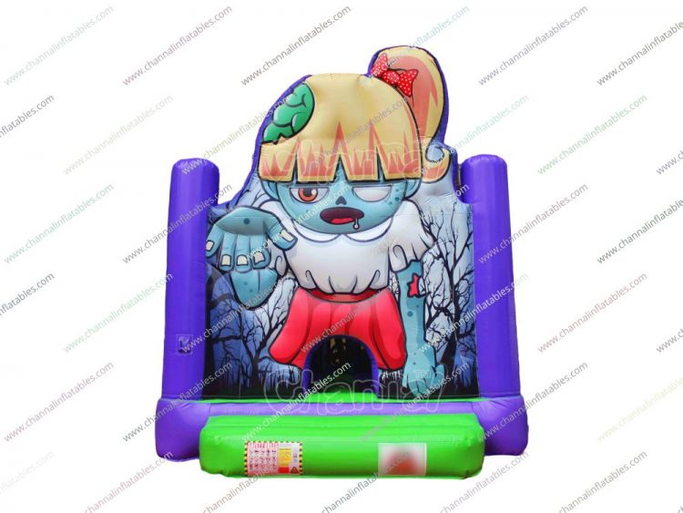 zombie girl bounce house for sale