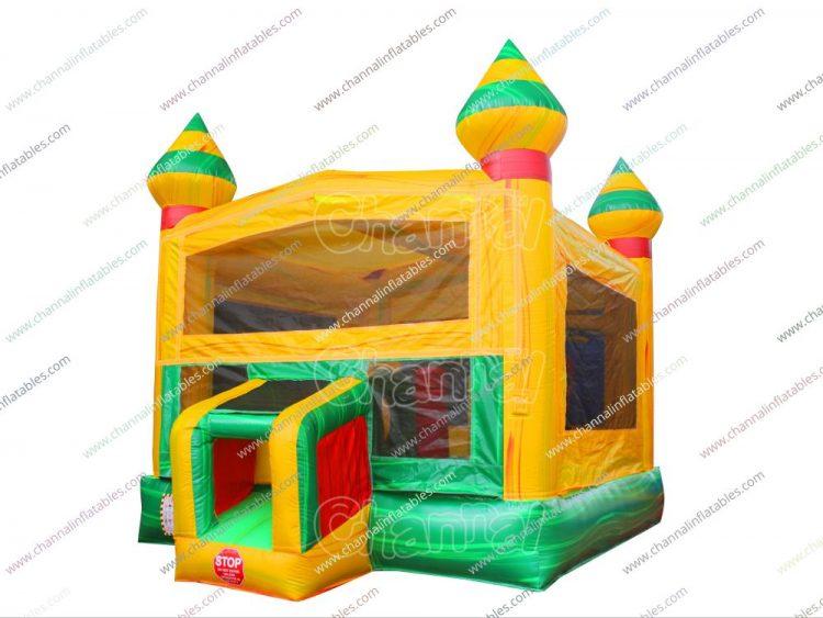 yellow green bouncer