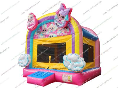 lol surprise bounce house