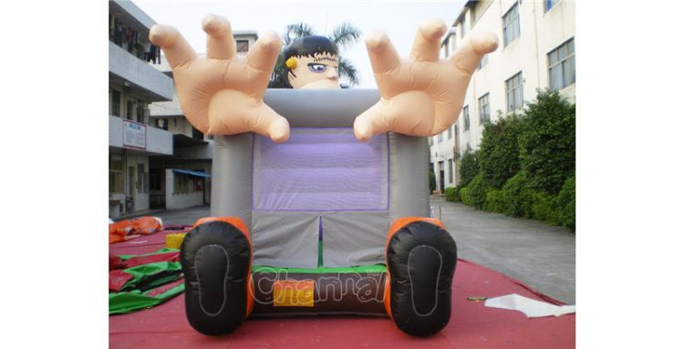 Frankenstein inflatable bounce house