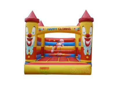 inflatable happy clowns bouncer