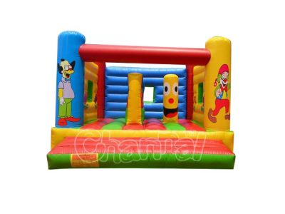 Krusty the Clown inflatable jump bouncer
