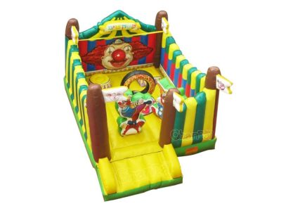 inflatable circus theme bouncer