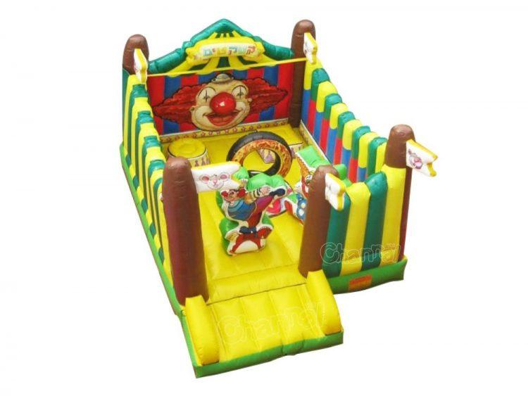 inflatable circus theme bouncer