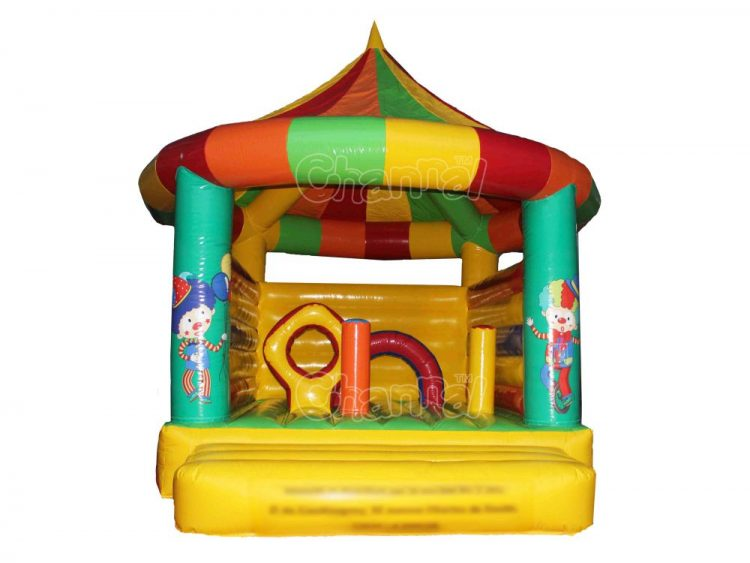 inflatable clown theme bouncer