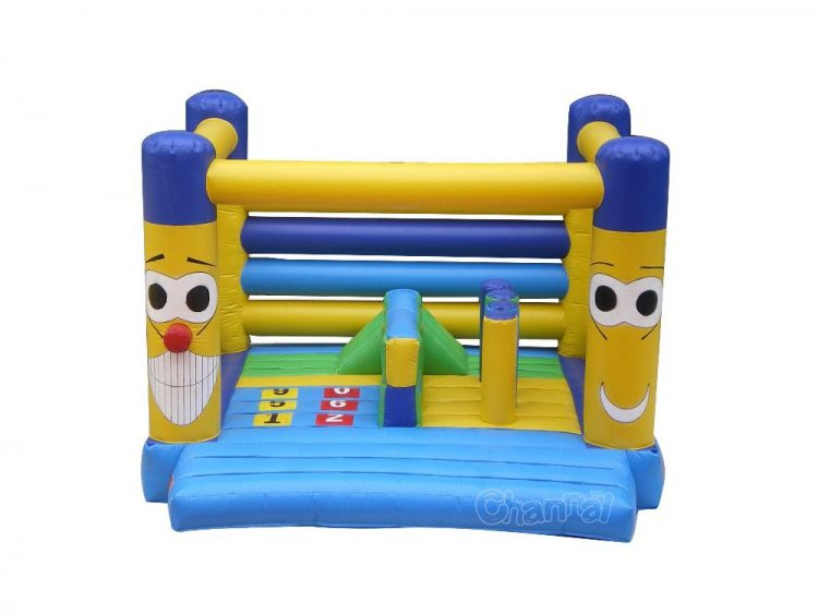 cartoon inflatable bouncer