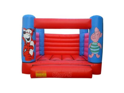 inflatable tigger and piglet bouncer