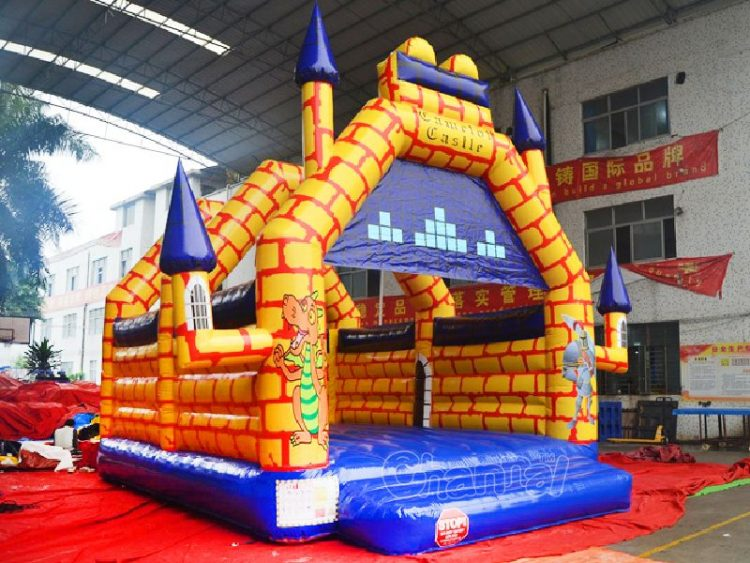 Camelot inflatable castle for kids