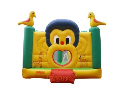 inflatable giraffe monkey bouncer