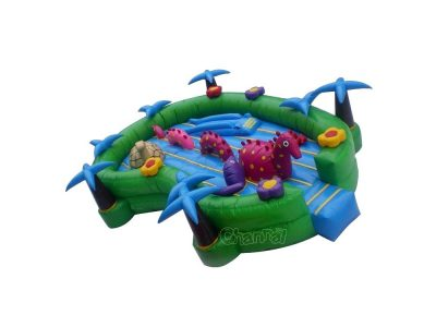 lake animals inflatable bouncer
