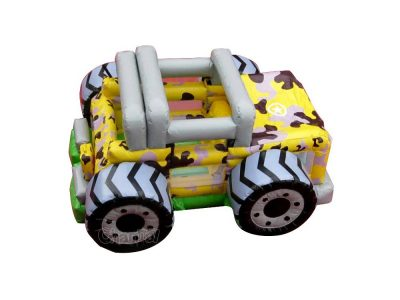 mini small inflatable monster truck bounce house jumper